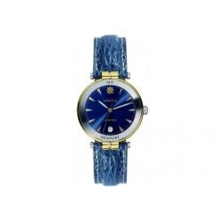 Michel herbelin newport yacht club homme cadran bleu bracelet requin bleu ref:12266/t35