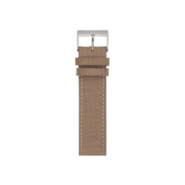 Bracelet nato cuir sport briston kaki