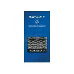 Waterman cartouche longue noir