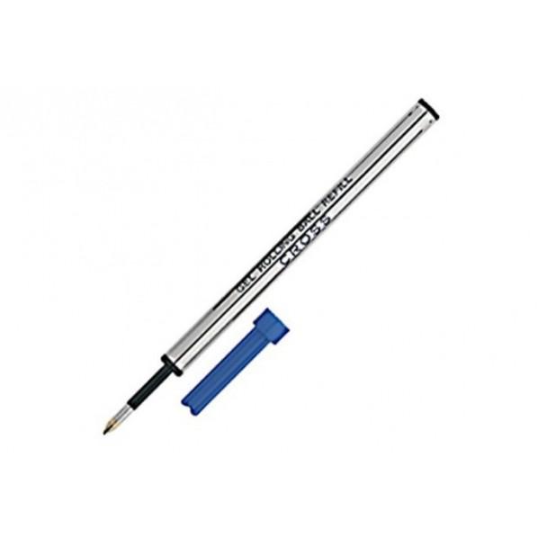 Cross recharge roller bleu