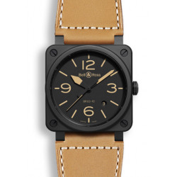Bell&Ross Aviation BR 03-92 Héritage 42 MM noir mat céramique