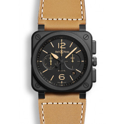 Bell&Ross Aviation automatique BR 03-94 Héritage 42 MM céramique chrono