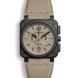 Bell&Ross Aviation automatique BR 03-94 désert type 42 MM