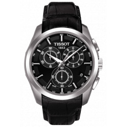 Tissot quartz homme Couturier chrono bracelet cuir