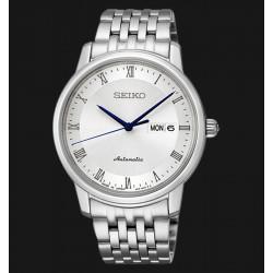 Seiko Tradition Présage homme automatique acier bracelet acier