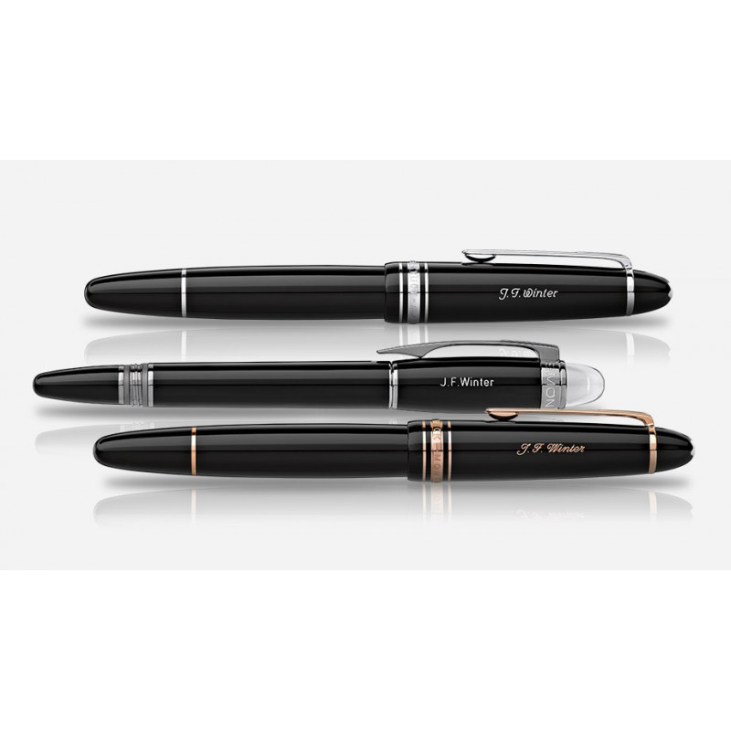 stylo mont blanc meisterstuck ultra black