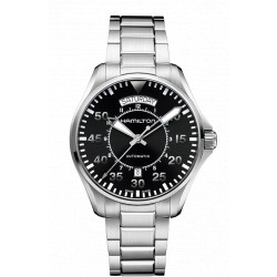 HAMILTON KHAKI PILOT automatique 42 MM bracelet acier