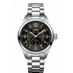 Hamilton Khaki Field jour/date 42mm bracelet acier