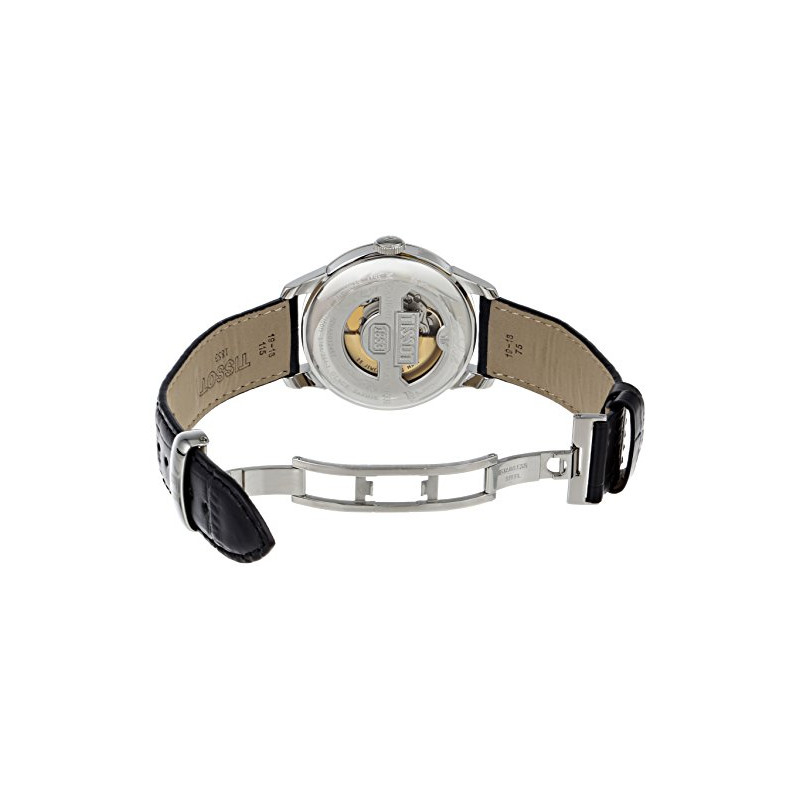 Tissot T006 Fond 053 Automatique 16 Bracelet Cuir 00 Le 407 Locle Noir bv7Ify6gY