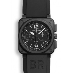 Bell&Ross Aviation Automatique Chronographe BR-03-94 céramique 42 MM