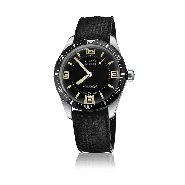 Oris diver sixty-five automatique original 40mm bracelet caoutchouc
