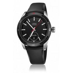 Oris Artix GT jour date automatique bracelet caoutchouc noir