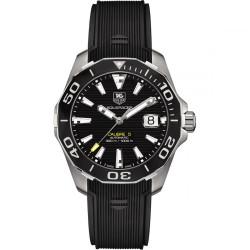 TagHeuer Aquaracer automatique 41mm bracelet caoutchouc