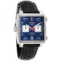Tagheuer Monaco automatique chronographe calibre 11 diam 39mm