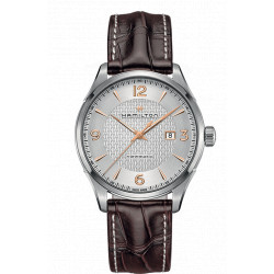 Hamilton Jazzmaster Viewmatic automatique 44 mm bracelet cuir