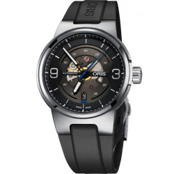 ORIS WILLIAMS ENGINE bracelet caoutchouc