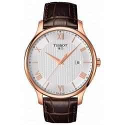 TISSOT TRADITION QUARTZ PLA. OR ROSE