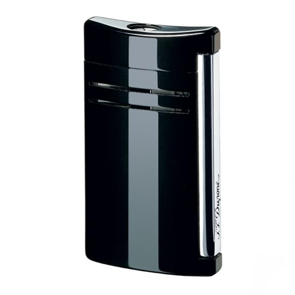 Dupont briquet maxijet laque noir ténèbres