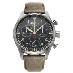 Alpina quartz startimer chronographe big date