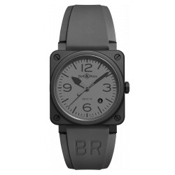 Bell&Ross Aviation automatique BR 03-92 gris mat céramique 42 MM
