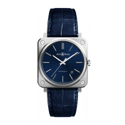 Bell&Ross Aviation BRS 39 mm automatique acier/bleu