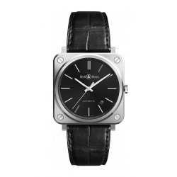Bell&Ross Aviation BRS 39 mm automatique acier/noir