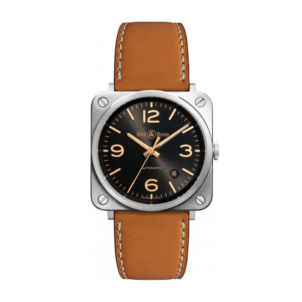 BELL&ROSS BRS automatique Golden Héritage