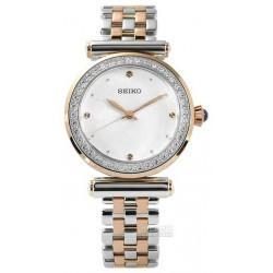 Seiko chronographe quartz femme acier bracelet acier