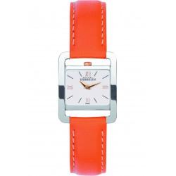 Michel herbelin 5e avenue femme acier bracelet cuir taupe ref: 17037/TR21OR