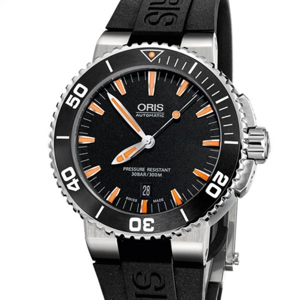 ORIS AQUIS DATE 43 MM bracelet acier