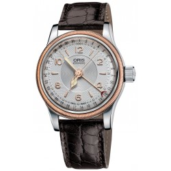 Oris big crown automatique original pointer date bracelet cuir