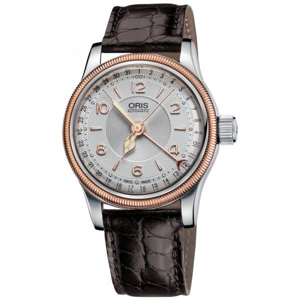 Oris big crown automatique original pointer date bracelet cuir