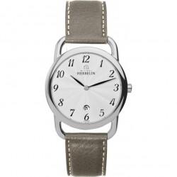 Michel Herbelin équinoxe femme bracelet cuir ref:19467/28ta