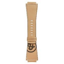 BELL&ROSS Bracelet veau naturel Heritage BR-X1 - BR 01 - BR 03 - Marquage esperluette