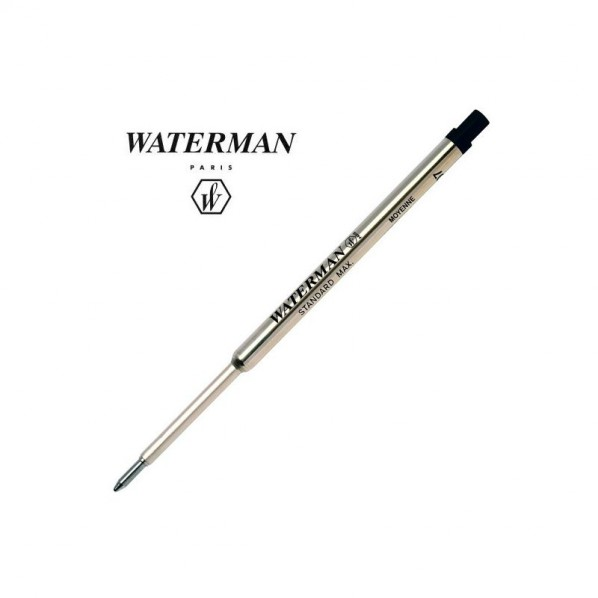 Waterman recharge bille noir moyenne