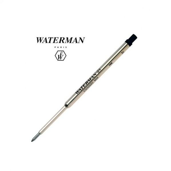 Waterman recharge bille noir fine
