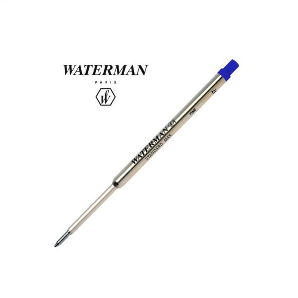 Waterman recharge bille bleue fine