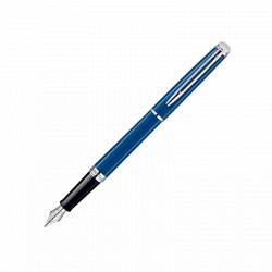 WATERMAN plume hémisphère laque bleu