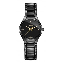RADO TRUE DIAMONDS FEMME céramique quartz