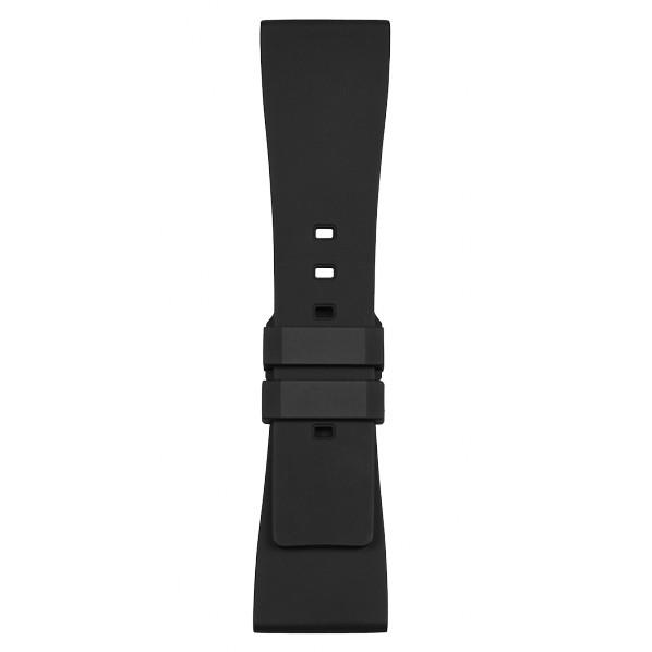 BELL&ROSS bracelet en caoutchouc noir BRS FEMME