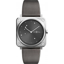 Bell&Ross Aviation BRS GREY DIAMOND QUARTZ FEMME 39 MM