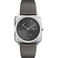 Bell&Ross Aviation BRS GREY EAGLE DIAMONDS QUARTZ FEMME 39 MM