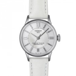 Tissot Chemin des Tourelles femme powermatic 80 diamants