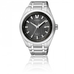 CITIZEN ECO-DRIVE 41 MM ACIER
