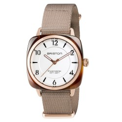 BRISTON CLUBMASTER CHIC acétate 36 mm Gold