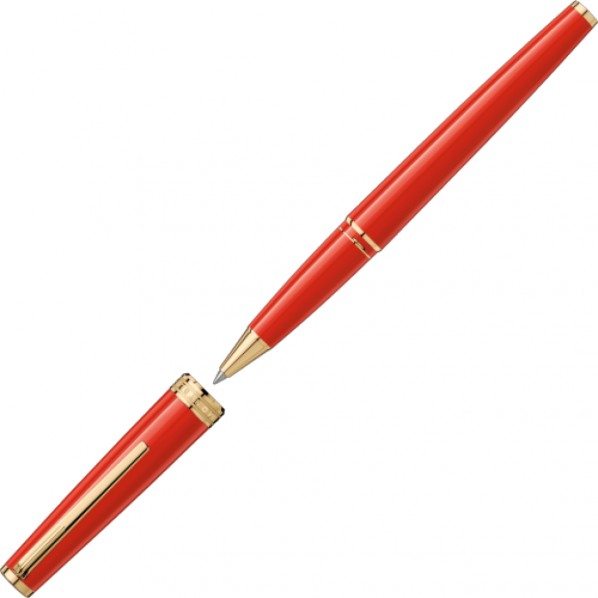 Montblanc Pix roller rouge gold