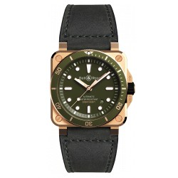 BELL&ROSS 03-92 DIVER GREEN BRONZE automatique