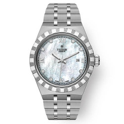 TUDOR ROYAL FEMME AUTOMATIQUE SERTIE DE DIAMANTS 28 MM