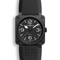 Bell&Ross Aviation automatique BR 03-92 noir mat céramique 42 MM