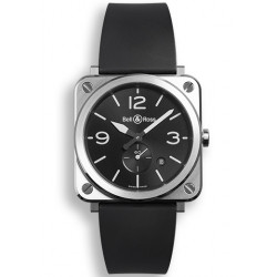 Bell&Ross Aviation BRS 39 mm quartz acier